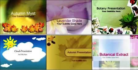 Шаблони презентацій на тему природа